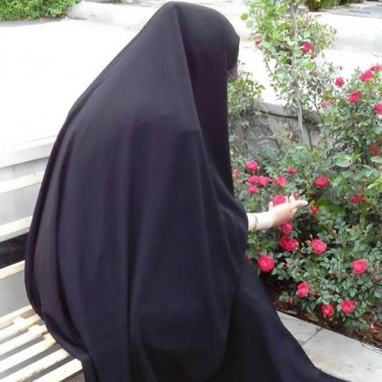 تصویر نوشته خاص و زیبا باحجابی