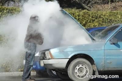 جوش آوردن موتور ماشین