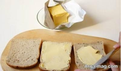 نان سوخاری خوشمزه