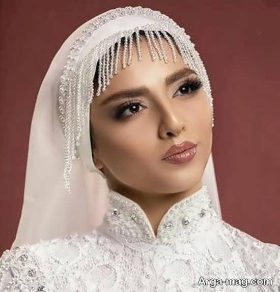 مدلی زیبا از توربان عروس