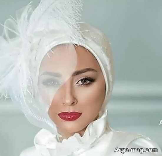 کلاه حجاب برای مراسم عروسی