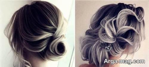 آرایش موی بسته و مجلسی