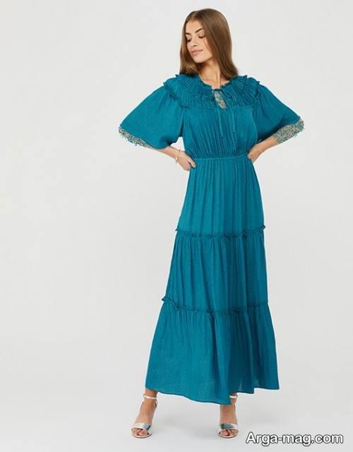 مدل پیراهن مجلسی برای خانم های ریز اندام