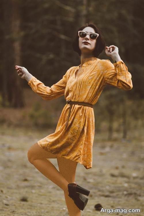 مدل لباس مجلسی کوتاه برای افراد ریز اندام