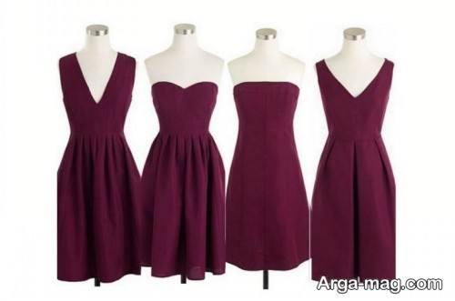 مدل لباس مجلسی شیک برای افراد ریز اندام