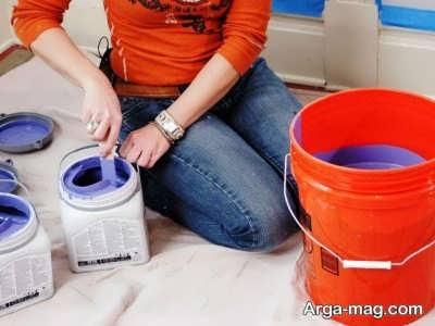یادگیری مهارت نقاشی ساختمان