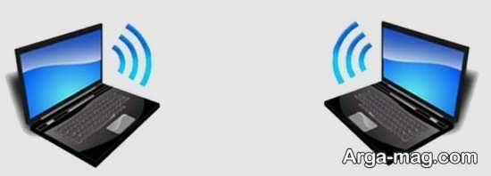 اتصال دو کامپیوتر توسط شبکه وای فای
