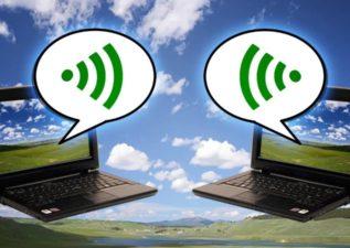 اتصال دو کامپیوتر با وای فای