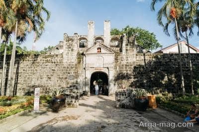 بازدید از قلعه تایخی و ترسناک سانتیاگو