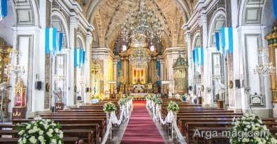 بازدید از کلیسای سن آگوستین در فیلیپین