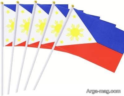 آشنایی با نماد پرچم فیلیپین