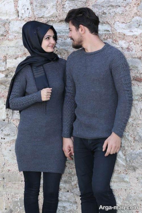 ست لباس زمستانه برای زوجین