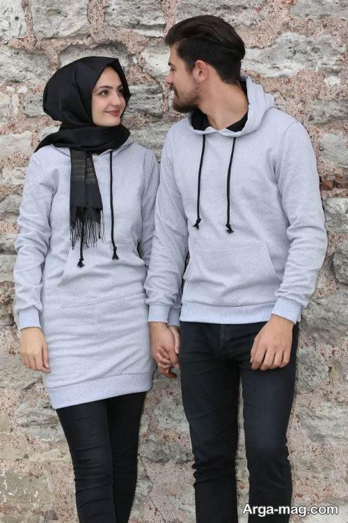 ست لباس شیک برای زوجین جوان