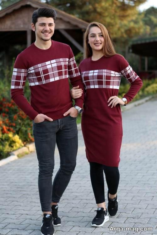 ست لباس اسپرت برای زوجین جوان