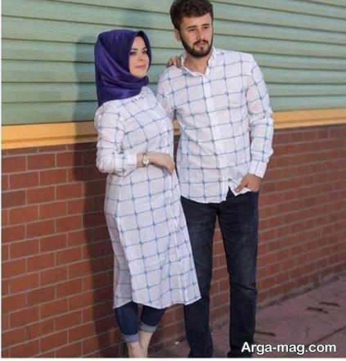 ست لباس برای زوجین جوان