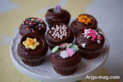 روش تهیه کاپ کیک شکلاتی در منزل