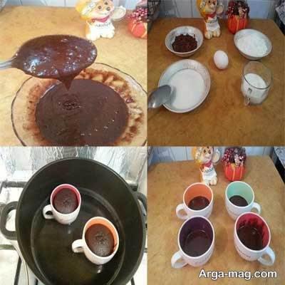 طرز تهیه کاپ کیک بدون فر