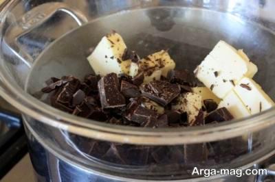 ترکیب کره و شکلات
