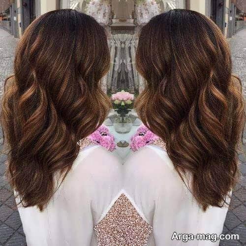 رنگ مو کاراملی زیبا