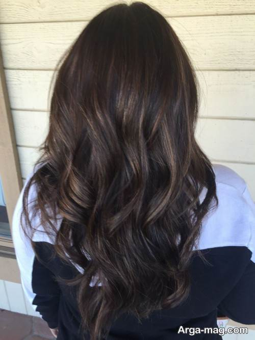 رنگ موی زنانه تیره