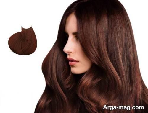 مدل رنگ موی زنانه کاراملی