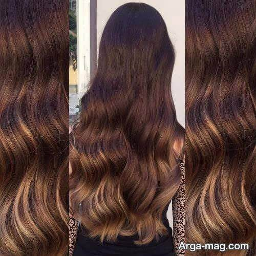 رنگ موی شیک و تیره
