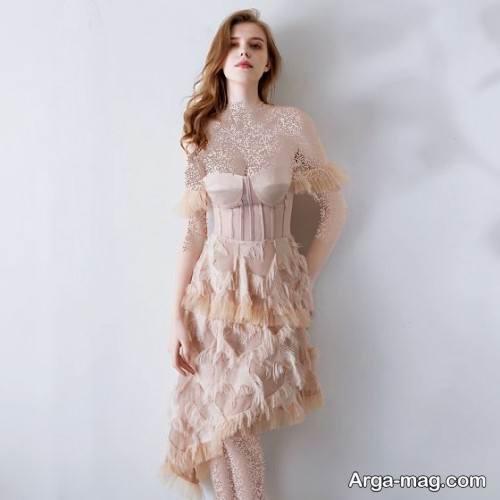 لباس دکلته کوتاه و جدید