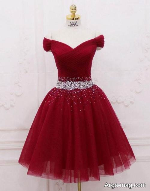 مدل لباس دکلته زیبا و شیک