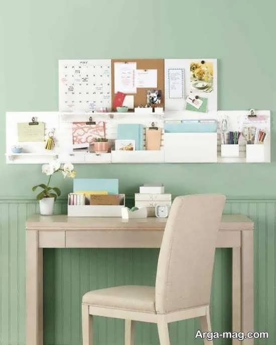 دیزاین زیبای میز تحریر