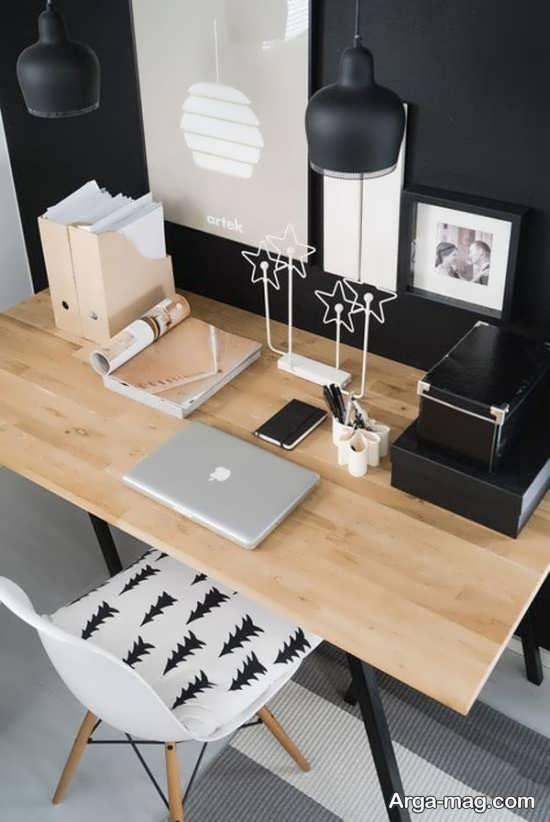 مدل میز تحریر چوبی و زیبا