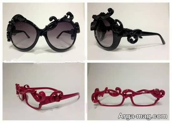 ایده تزیینات شکیل عینک