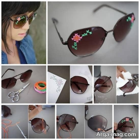 ایده های زیبای تزیینات عینک