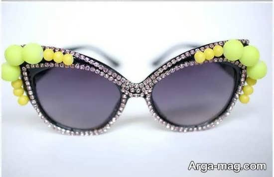تزیینات فوق العاده شیک عینک