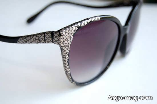 مدل جذاب تزیینات عینک