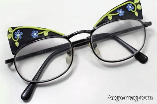 تزیینات شیک عینک