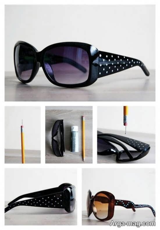 تزیینات خاص عینک آفتابی