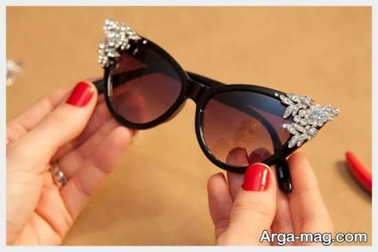 تزیینات عینک لوکس برای خانوم ها