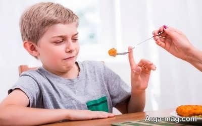 دلیل کاهش اشتها در کودکان