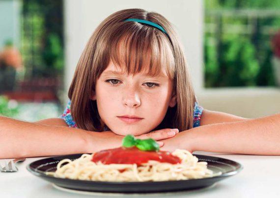 دلایل کم شدن اشتهای کودکان