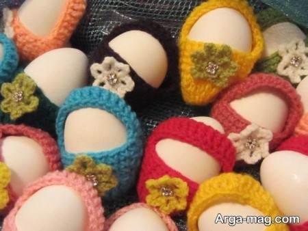 تزیین جالب تخم مرغ