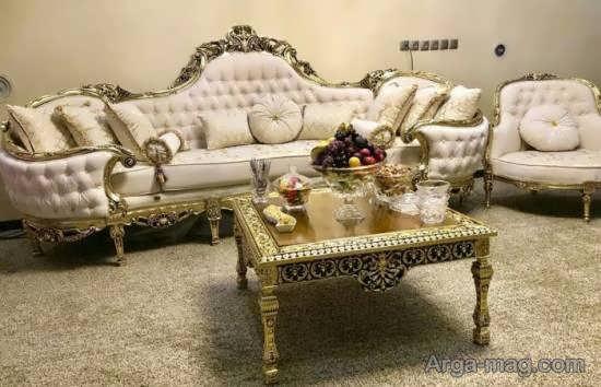 الگوهایی زیبا و لوکس از مبل استیل مصری