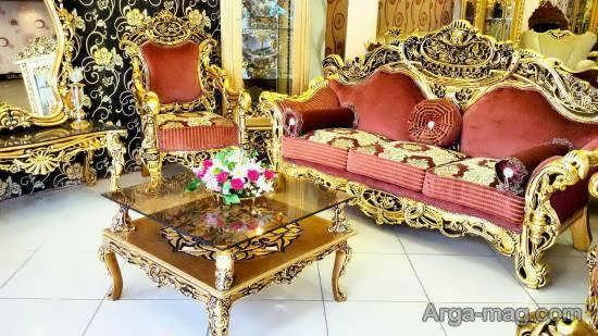 انواع مدل مبل مصری زیبا و لوکس برای زیباسازی منزل