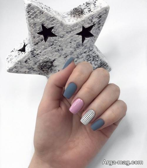 دیزاین ناخن دخترانه برای عید نوروز
