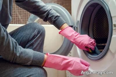رفع بوی نامطبوع از ماشین لباسشویی