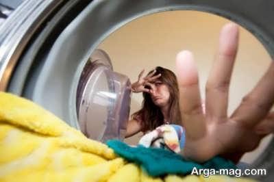 بازگذاشتن درب ماشین لباسشویی