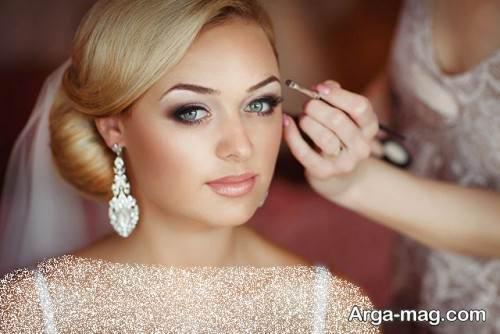 مدل آرایش صورت اروپایی