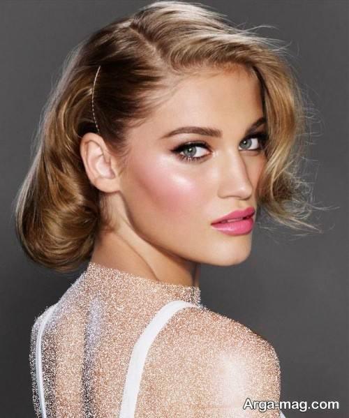 مدل میکاپ زنانه اروپایی
