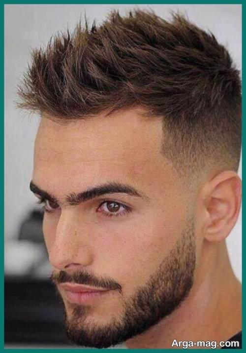 مدل مو مردانه اروپایی