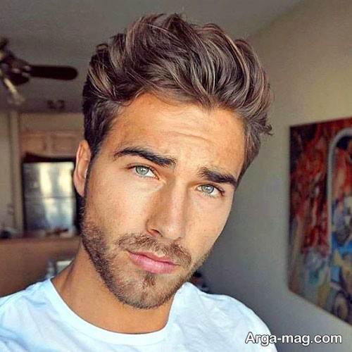 مدل موی مردانه اروپایی شیک و جدید