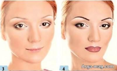 مدل آرایش چشم خمار